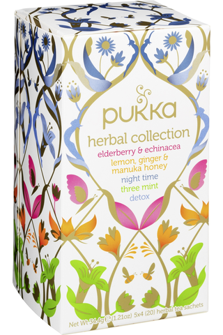 Pukka 5x4ps Herbal collection luomu teejuoma