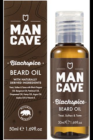 ManCave Blackspice partaöljy 50 ml
