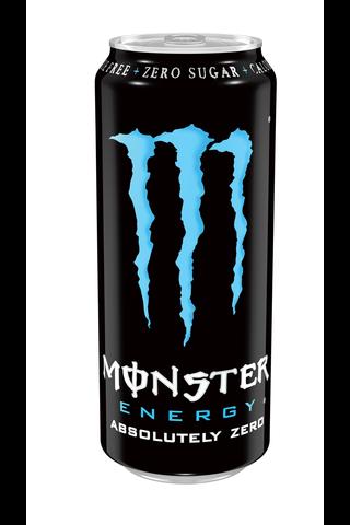 Monster Energy Absolutely Zero energiajuoma tölkki 50cl