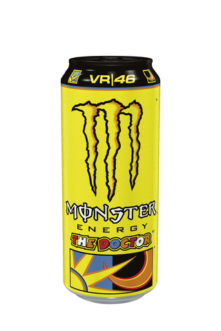 Monster Energy Rossi VR\46 energiajuoma tölkki 50cl