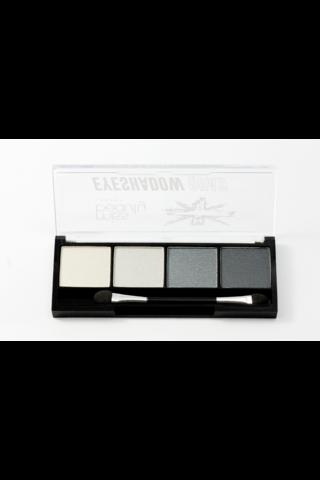 Miss Beauty London Eyeshadow Quad 2 Grey luomiväripaletti