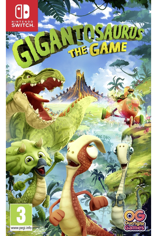 Nintendo Switch Gigantosaurus The Game