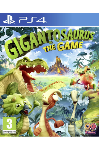 Playstation 4 Gigantosaurus The Game