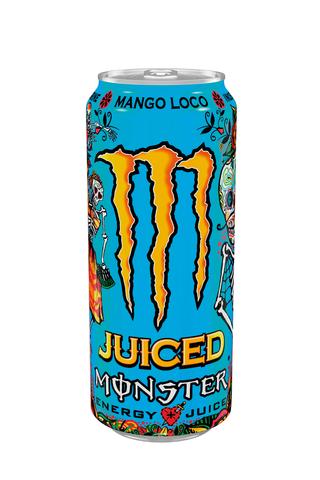 Monster Energy Juiced 0,50L Mango Loco energiajuoma tölkki