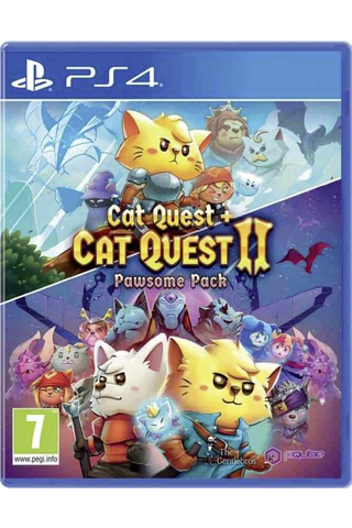 PS4 Cat quest + Cat quest II: Pawsome pack