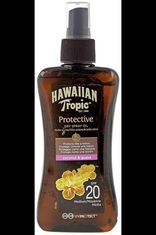 Hawaiian Tropic Protective 200ml Spray Oil SPF20