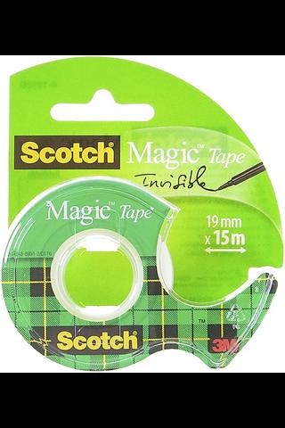 Scotch Magic 8-1915D näkymätön teippi katkaisijalla, 19mmx15m