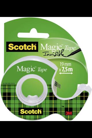 Scotch teippi Magic 8-1975D näkymätön katkaisijalla 19mm 7,5m