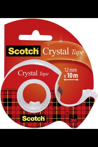 Scotch yleisteippi 61210D katkaisijalla kirkas 12mm 10m