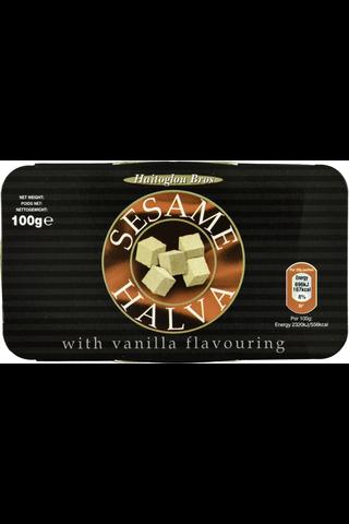 Sesame 100g vaniljanmakuinen halva