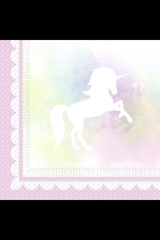 Believe In Unicorns Lautasliina 33CM 20KPL