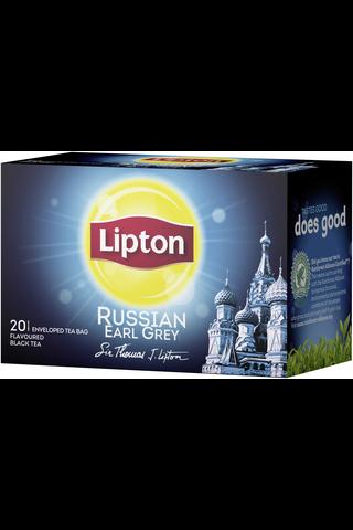 Lipton 20ps Russian Earl Grey musta tee