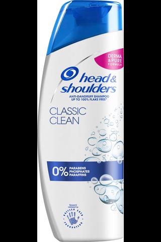 Head & Shoulders 250ml Classic Clean shampoo
