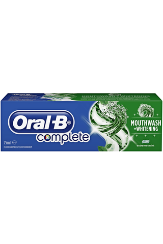 Oral-B 75ml Complete Plus Mouthwash hammastahna