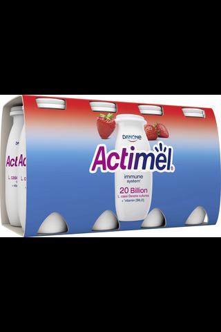 Danone Actimel mansikka jogurttijuoma 8x100g