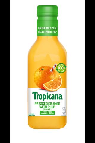 Tropicana orange juice with pulp appelsiinitäysmehu hedelmälihalla 0,9l