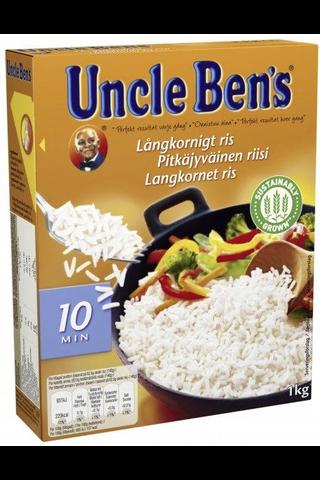 Uncle Ben's 1kg pitkäjyväinen riisi