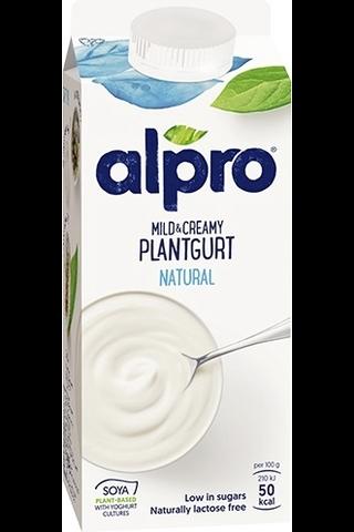 Alpro 750g Pehmeän täyteläinen soijavalmiste maustamaton