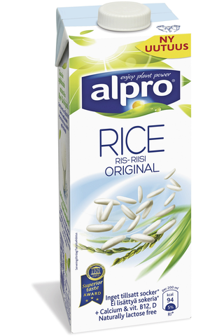 Alpro 1L Makeuttamaton riisijuoma