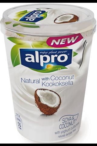 Alpro 500g Kookoksella maustettu soijavalmiste