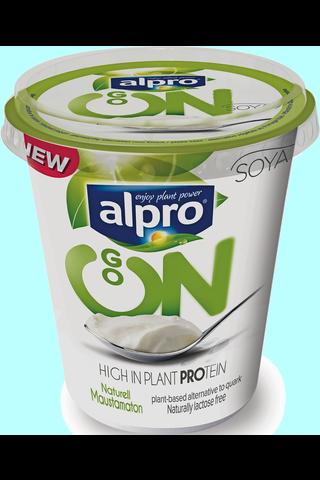 Alpro Go On 400g maustamaton soijavalmiste