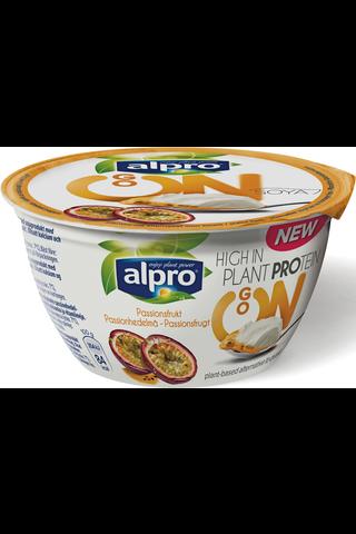 Alpro Go On Hapatettu soijavalmiste, passionhedelmä 150g