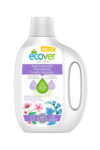 Ecover 850ml tiivistetty pesuaine kirjopyykille