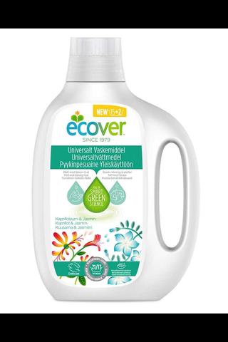 Ecover 850ml tiivistetty pyykinpesuaine yleiskäyttöön