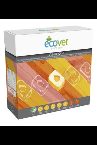 Ecover 1,3kg konetiskitabletti All-in-One 65kpl