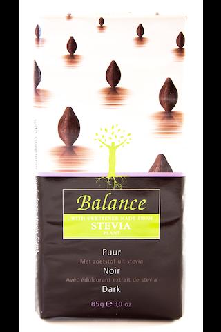 Stevia Tummasuklaa
