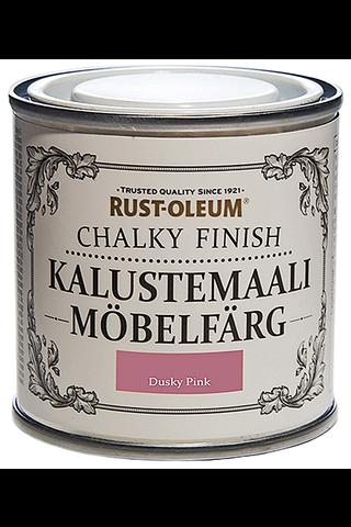 Rust-Oleum Chalky Finish 125ml kalustemaali vesiohenteinen runsaspigmenttinen vaaleanpunainen