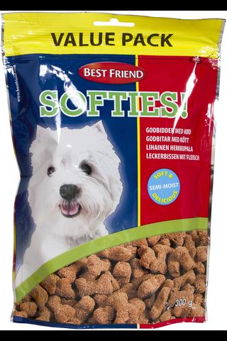 Best Friend 300g Softies lihainen herkkupala koiralle