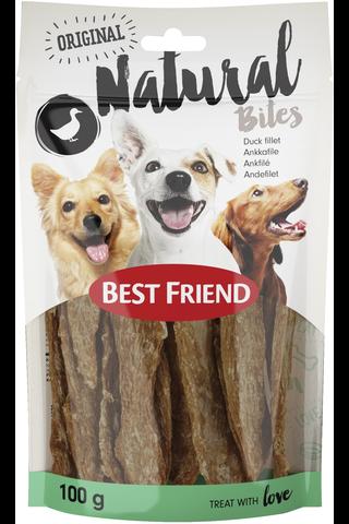 Best Friend Natural Bites 100g ankkafilee