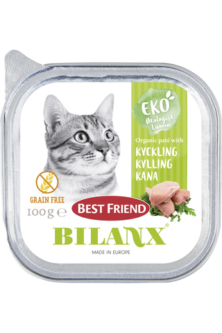 Best Friend Bilanx 100g luomu kanapatee