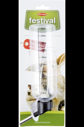 BF Festival Fresh jyrsijän juomapullo 500ml