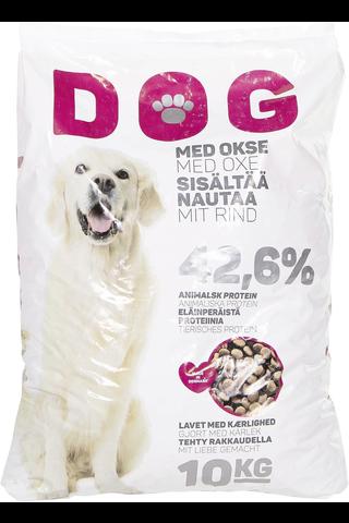Dog 10kg sisältää lihaa