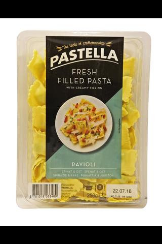 Pastella ravioli pinaatti ja juusto tuorepasta 250g