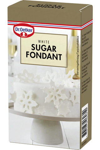 Dr. Oetker Valkoinen sokerimassa 250g