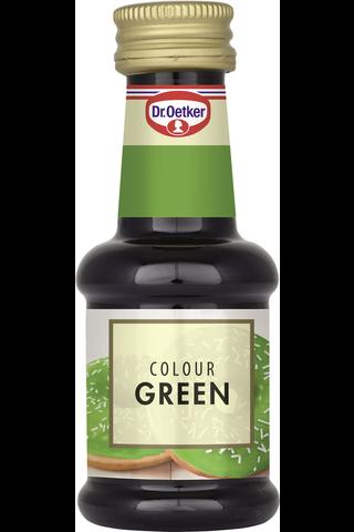 Dr. Oetker Vihreä elintarvikeväri 30ml
