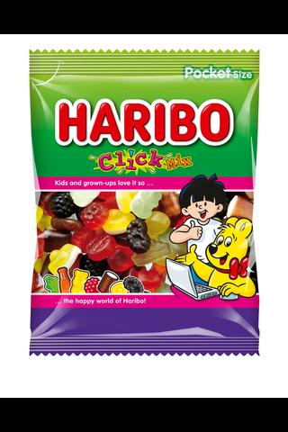 HARIBO Click Mix 80g viinikumi, lakritsi ja rae