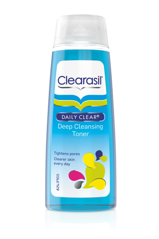 Clearasil 200ml Deep Cleansing Toner kasvovesi