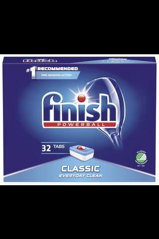 Finish Classic konetiskitabletti 32kpl