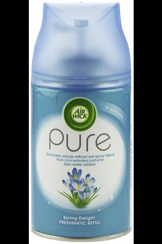 Air Wick 250ml Pure Spring Delight täyttöpakkaus