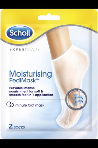 Scholl Pedi kosteuttava jalkanaamio