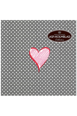 Napkins 33cm Hearts and Dots