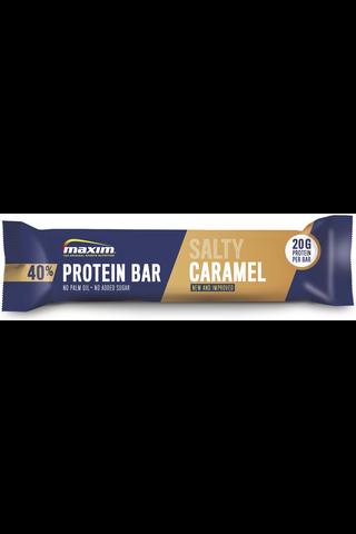 Maxim 50g Salty Caramel 40% protein bar proteiinipatukka