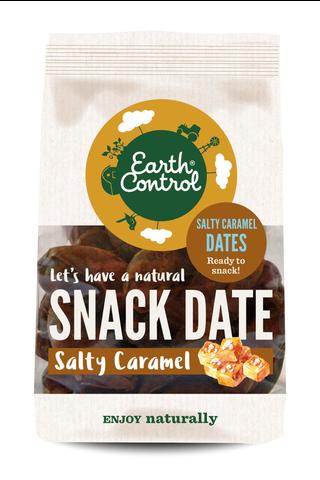 Earth Control 200g Salty Caramel Dates kuivatut taatelit suolainen kinuski