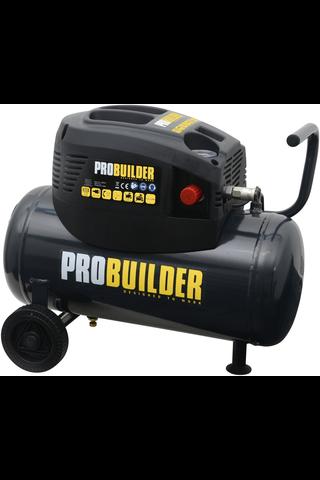ProBuilder 24l kompressori öljytön 1,1kw