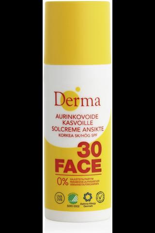 Derma 50ml Aurinkovoide kasvoille SK30