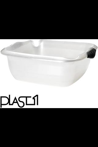Plast1 pesuvati suorakulma 10 L kaatonokalla